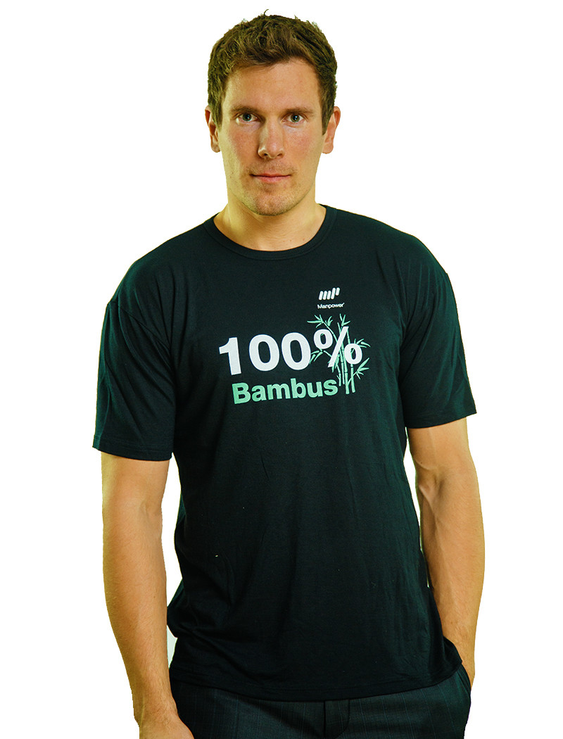 Camisa T bambus T skjorte Camisa AS