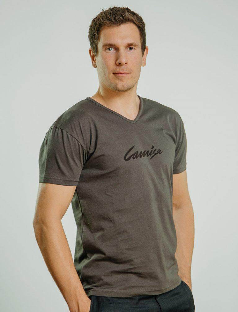 SW Frisco økologiske T skjorter v hals Camisa AS